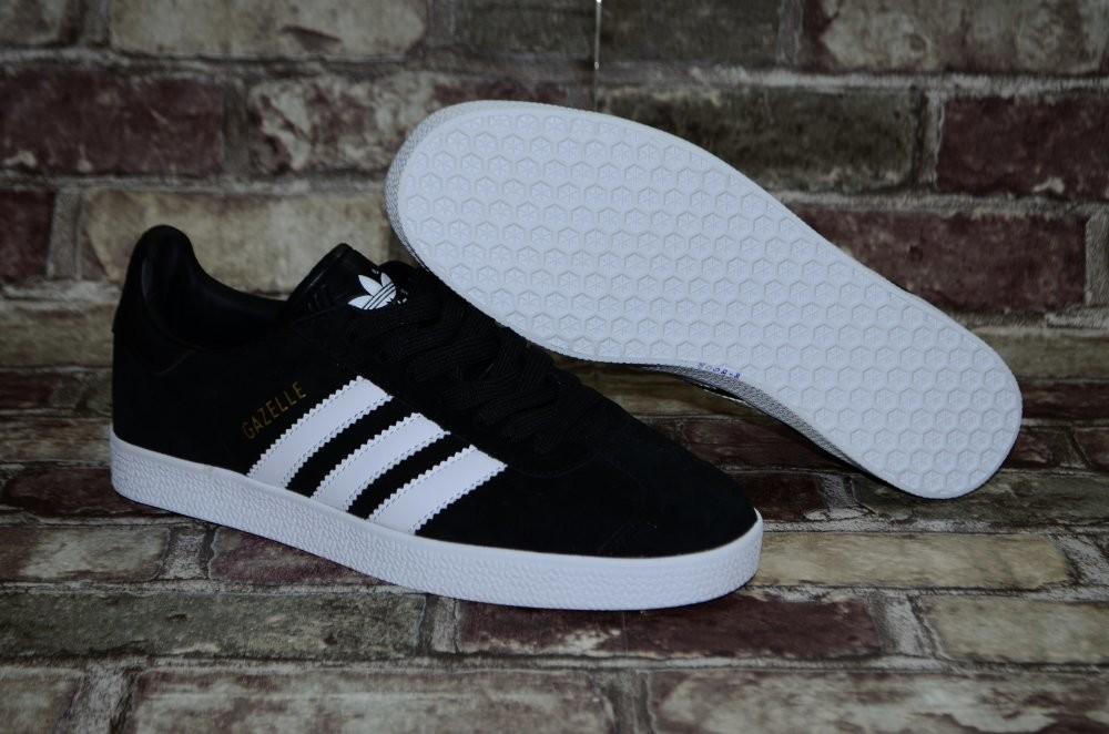 Замшевые мужские кроссовки (кеды) adidas gazelle адидас 3х цветов фото №9