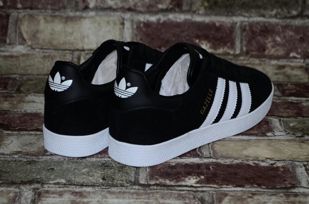 Замшевые мужские кроссовки (кеды) adidas gazelle адидас 3х цветов фото №10