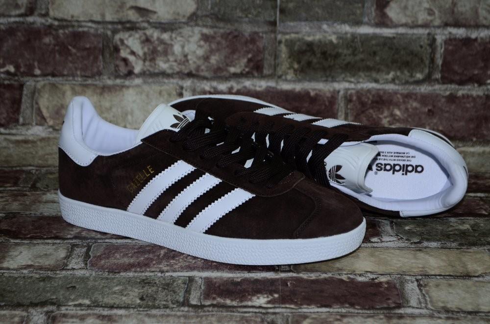 Замшевые мужские кроссовки (кеды) adidas gazelle адидас 3х цветов фото №6
