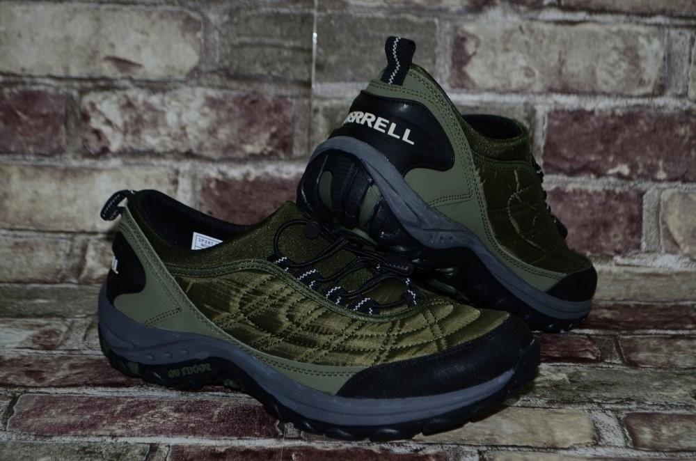 Мужские кроссовки демисезонные водоотталкивающий merrell мерелл фото №7