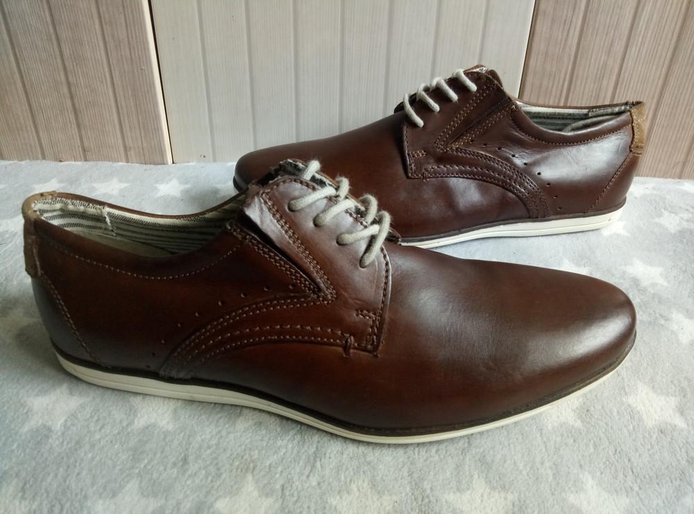 Туфлі із натуральноі шкіри 42 рр і устілка 27,5 см. фото №1