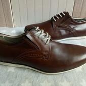 Туфлі із натуральноі шкіри 42 рр і устілка 27,5 см.