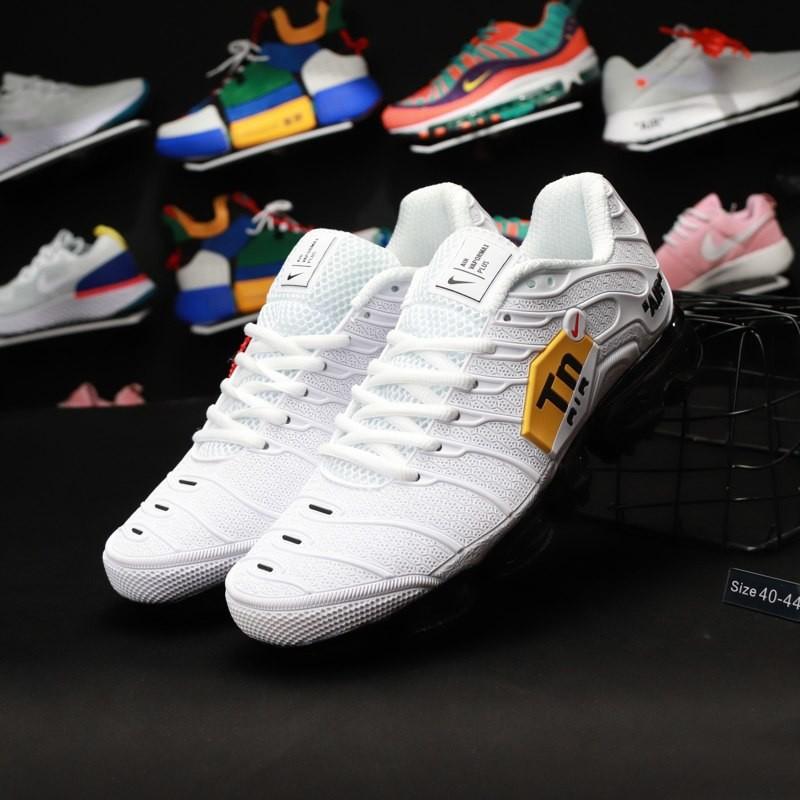 Кроссовки  Nike air tn Air vapormax plus White caoutchouc фото №1