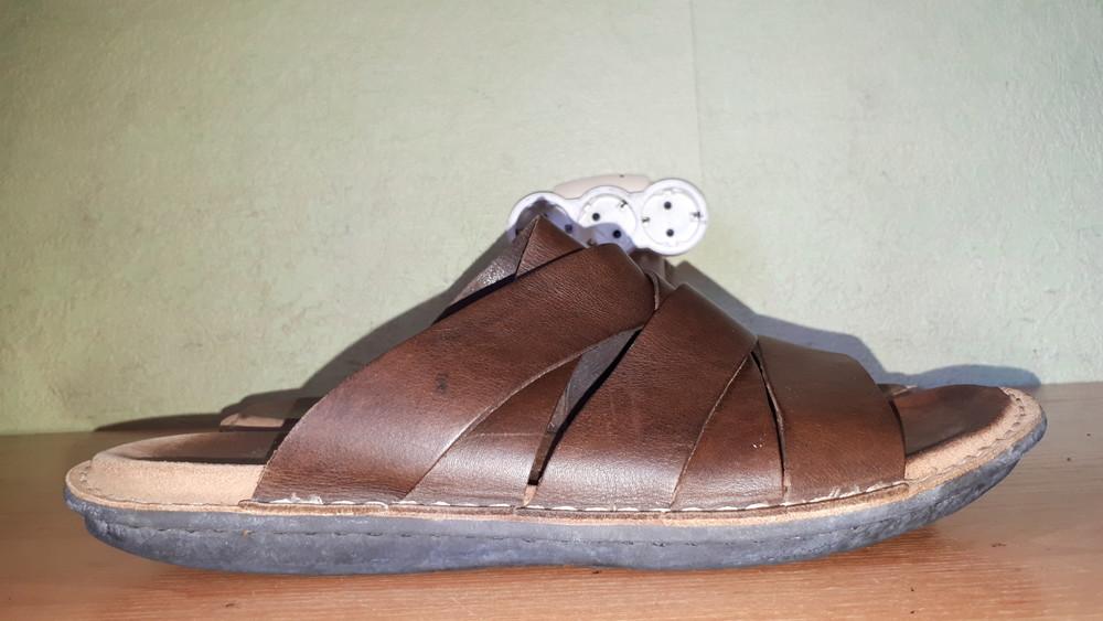 тапки-шлёпки Clarks made in Vietnam 44-44.5р оригинал-даром фото №1