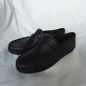 Фирменные резиновые туфли 43р-27,5см, Новые, не промокают