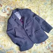 Стильный пиджак на 2-3 года