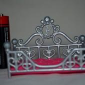 Оригинальная кукольная кроватка кровать трон для куклы Mattel маттел