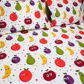 Веселые фрукты! Подарочный набор для детской кроватки!
