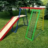 Детский комплекс, игровой уголок, площадка. Доставка Ин-Тайм бесплатно!