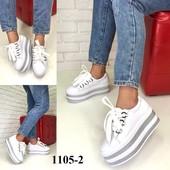 Новинка! женские кожаные туфли/криперы код:МР 1105-2