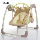 Колыбель-качели электрическая Bambi с таймером 6568