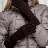 17-166 длинные вязанные перчатки