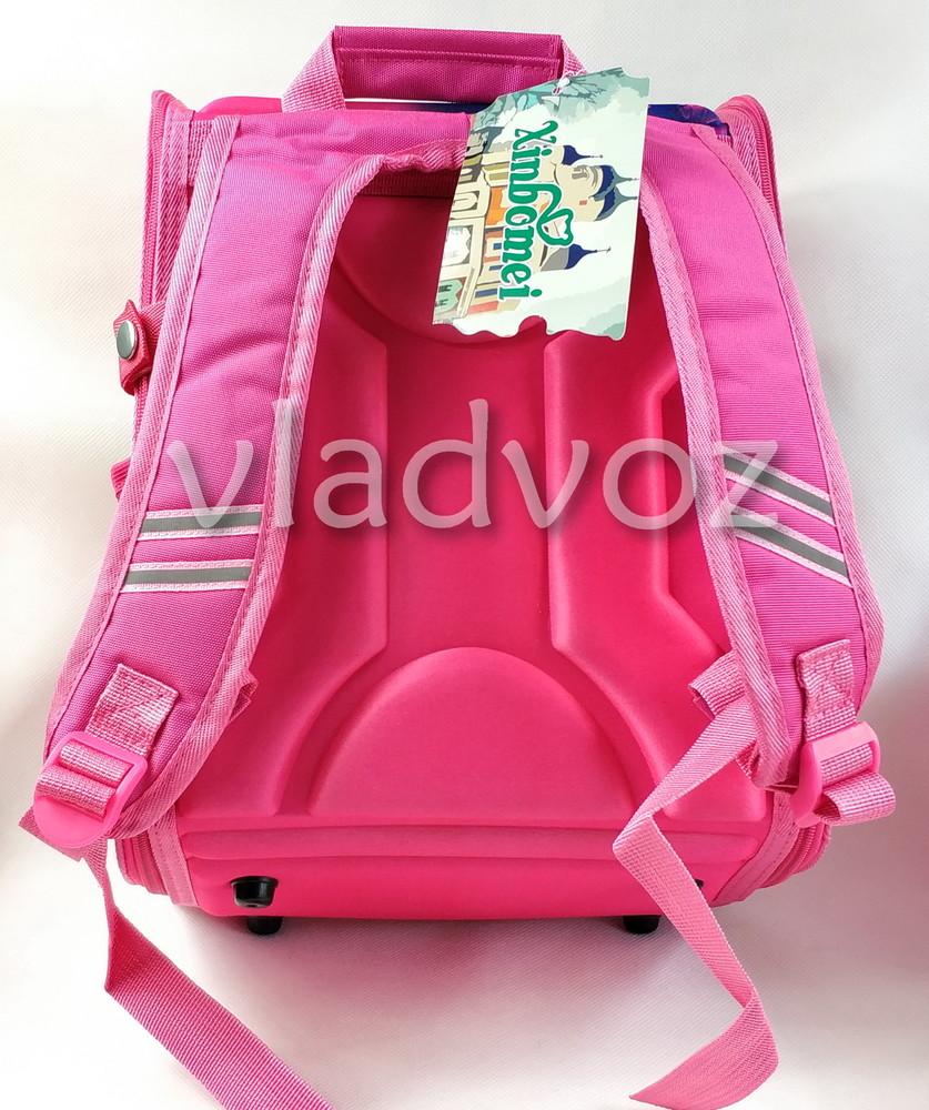 Школьный каркасный рюкзак для девочек бабочки butterfly фото №4