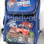Школьный каркасный рюкзак для мальчиков Off road 3535-1