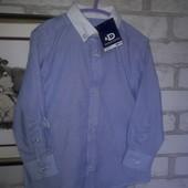 Нарядная строгая рубашка Duck&Dodge р 98 см 3 г сток