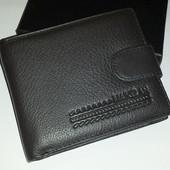 Мужской кошелёк из натуральной кожи Maikelan 208-B