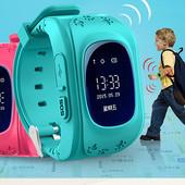 Детские умные смарт часы smart baby watch Q50 с GPS трекером для отслеж