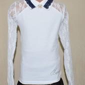 Хлопковая блузочка в школу