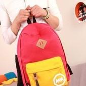 Рюкзак красного цвета
