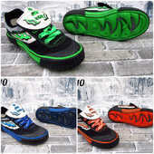 Спортивная обувь Tiger кеды / подошва резина / носок прорезиненный р-ры 41-46