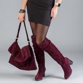 Новинка! женские замшевые сапоги код:ЛЛ 85931