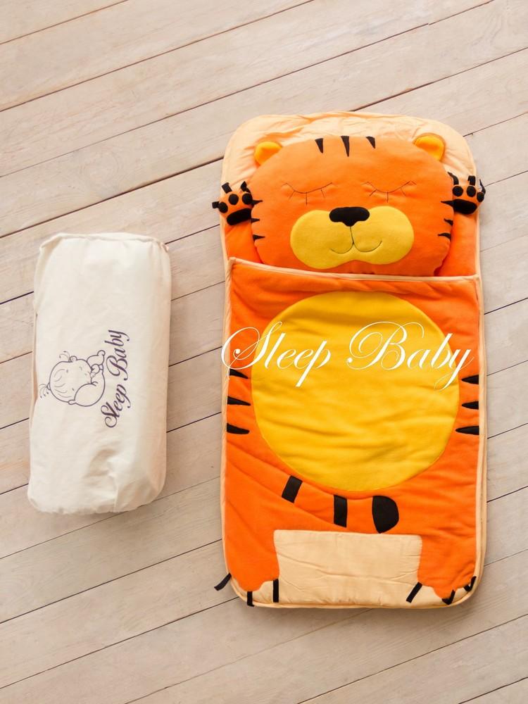 Бесплатная доставка - тигр -детский спальник-слипик фото №1