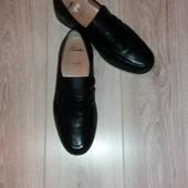 Туфли кожа Clarks р.10,5 стелька 29 см.
