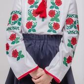 """Вишита блузка для дівчинки """"Мія"""""""