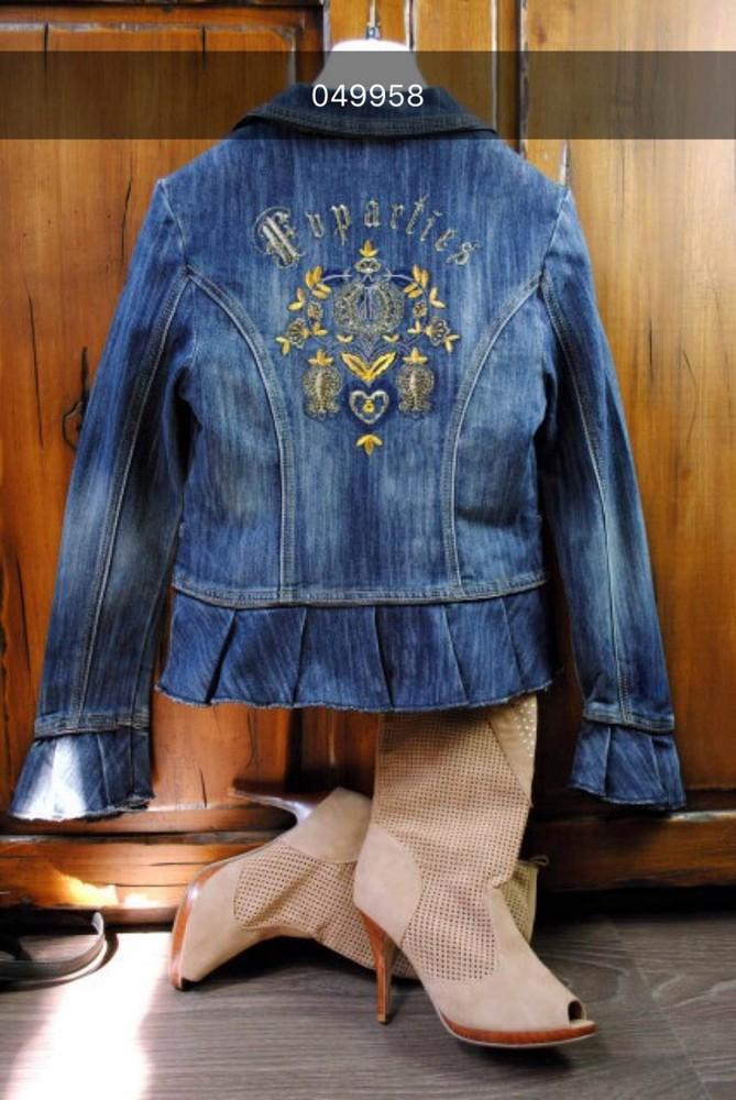 Джинсовый пиджак фото №1