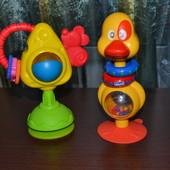 игрушки на присоске на столик  чико  chicco погремушка