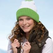 Зимняя шапка с помпоном. Выбор цвета