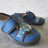 Синие текстильные тапочки Пират 24-26 р