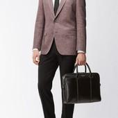 Hugo Boss Оригинал. Строгие брюки. Шерсть. 34R сток