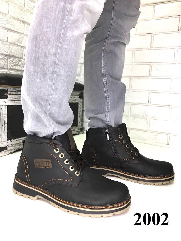 d72aa8454 Натуральные зимние мужские ботинки на меху, код ех-2002, цена 1399 ...
