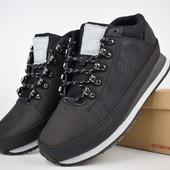Ботинки зимние мужские New Balance 754 black, нубук