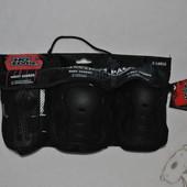 Комплект защиты для роликов скейтборда велосипеда No Fear р.L