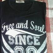 Мужская футболка хлопок размер М 46