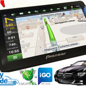 GPS навигатор Pioneer pi 7hd. igo, navitel + карты, распродажа!