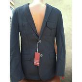 Стильный новый пиджак для мальчика  GOL® Германия р.170 , графит