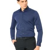 мужская рубашка синяя LC Waikiki