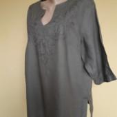 56-58р. Льняная блуза