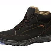 Ботинки зимние мужские с прошивкой Сб-05