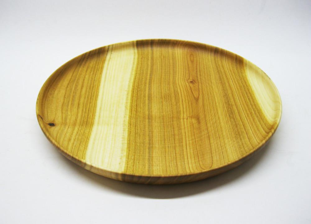 Дерев'яна тарілка фото №1