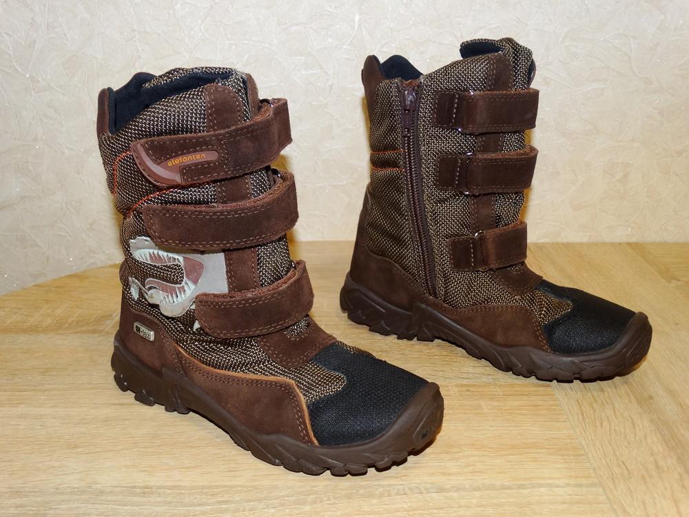 Р.30 ботинки elefanten-tex с мембраной ,20 см. по стельке. фото №1