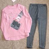 Моднявые комплекты для девочек 98-146рост