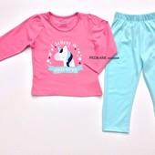 Пижама для девочки (1.5-8 лет) Primark. Читать описание!