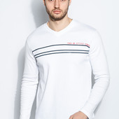Comeor.Пуловер мужской с полосками