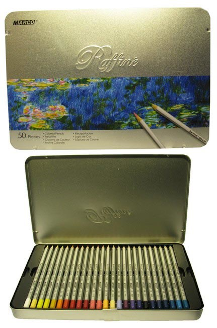 Цветные карандаши marco raffine 7100-50tn фото №1