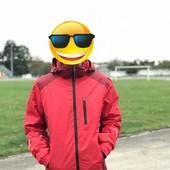 Crivit мужская термо куртка + рукавицы размер євро52