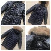 Шикарное, зимнее пальто на тинсулейте до 170см